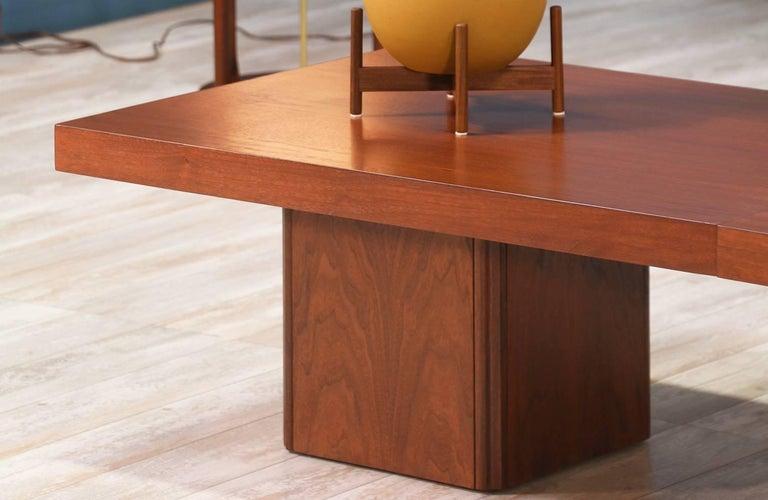 John Keal Expanding Coffee Table for Brown Saltman For Sale 4
