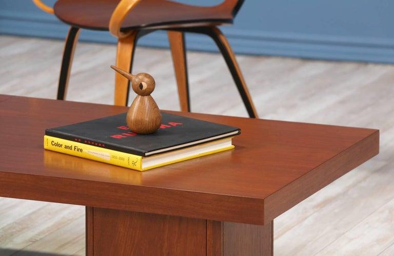 John Keal Expanding Coffee Table for Brown Saltman For Sale 5