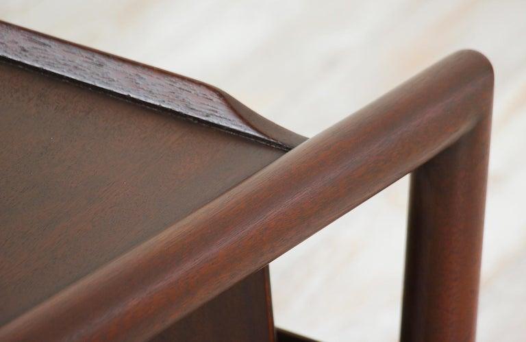 John Keal Magazine Side Table for Brown Saltman For Sale 3