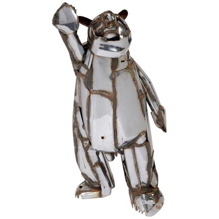 John Kearney Figurative Sculpture - Friendly Bear