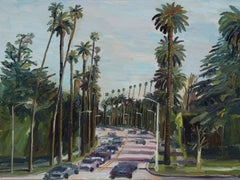 Beverly Drive, Painting, Oil on Canvas
