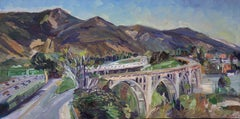 Colorado Street Bridge, Painting, Oil on Canvas