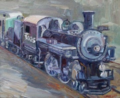 Engine No.3025, Painting, Oil on Canvas