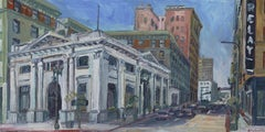 Farmers and Merchants Bank, Painting, Oil on Canvas