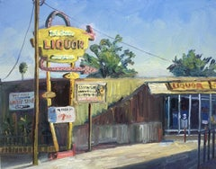 Jet Stream Liquors, Painting, Oil on Canvas
