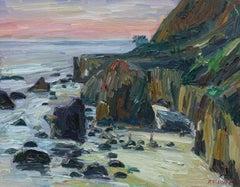 Matador Beach, Painting, Oil on Canvas