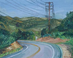 Mulholland Drive #2, Painting, Oil on Canvas
