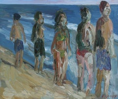 Zuma Beach #2, Painting, Oil on Canvas