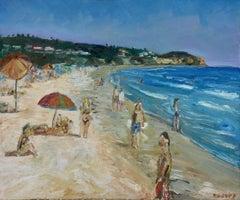 Zuma Beach, Painting, Oil on Canvas