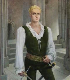 "Laurence Olivier as, ""Young Hamlet"""