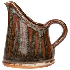 John Leach Muchelney Pottery Wax Resist Studio Pottery Jug
