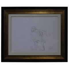 """John Lennon """"Exchange of Rings"""" Autographed Lithograph"""