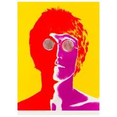 John Lennon Original Vintage Poster by Richard Avedon, 1967