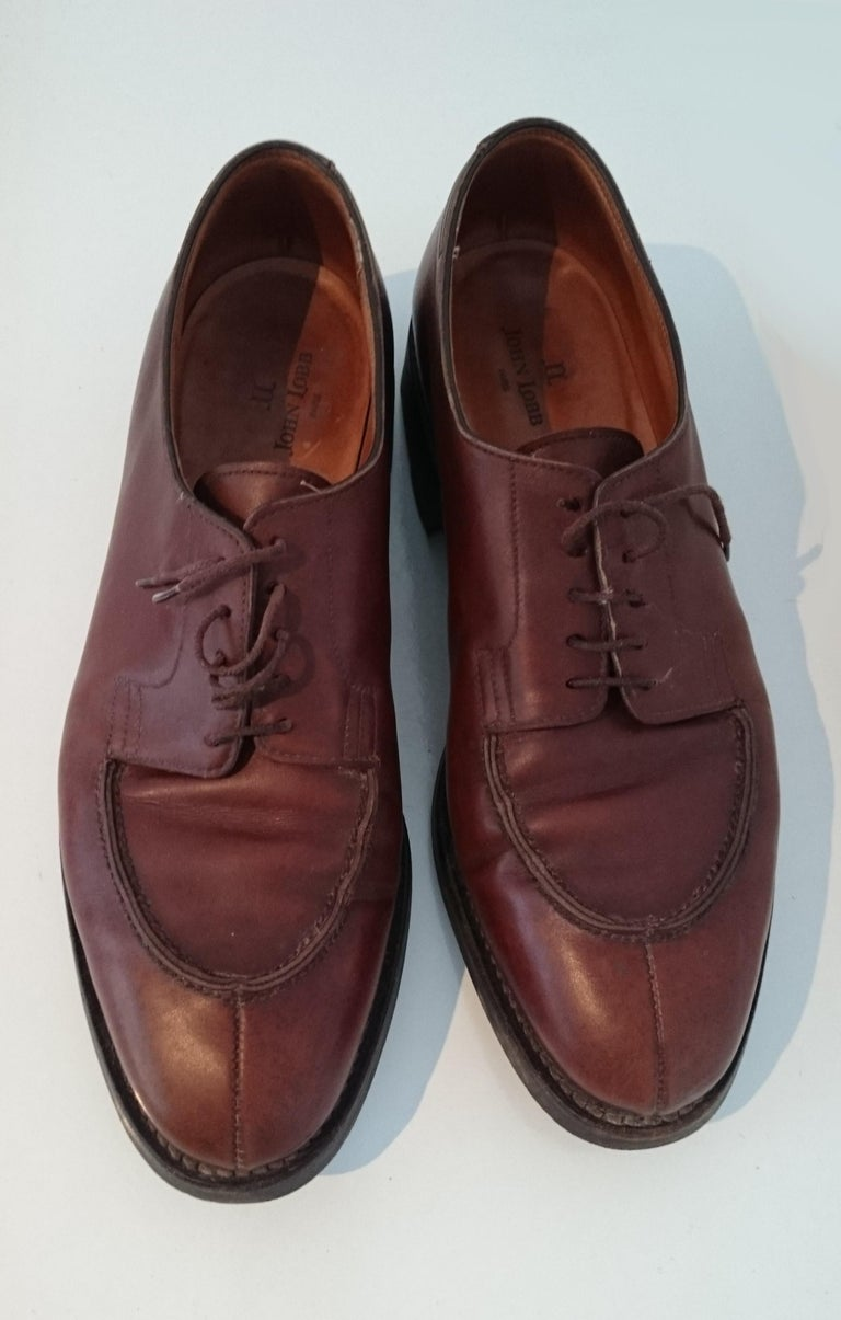 Men's John Lobb Leather Brown  Laced Up Shoes. Great conditions. Size 7.5 (UK) For Sale