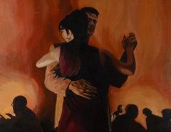 John Luce Lockett (1952-2014) - 20th Century Oil, A Couple Dancing