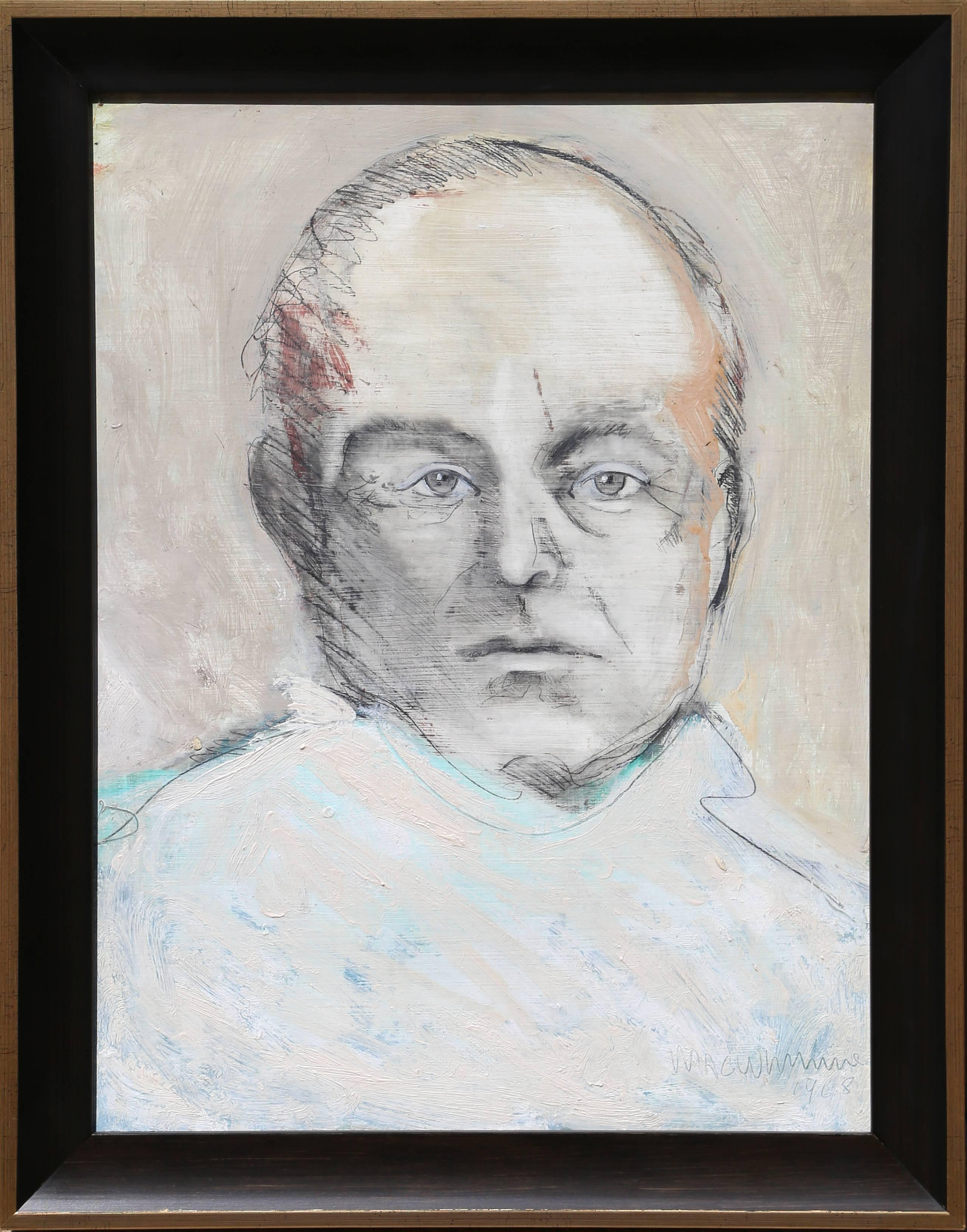 """""""Portrait of Truman Capote"""" by John MacWhinnie"""