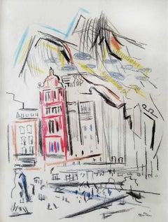 New York Street Movement and Figure