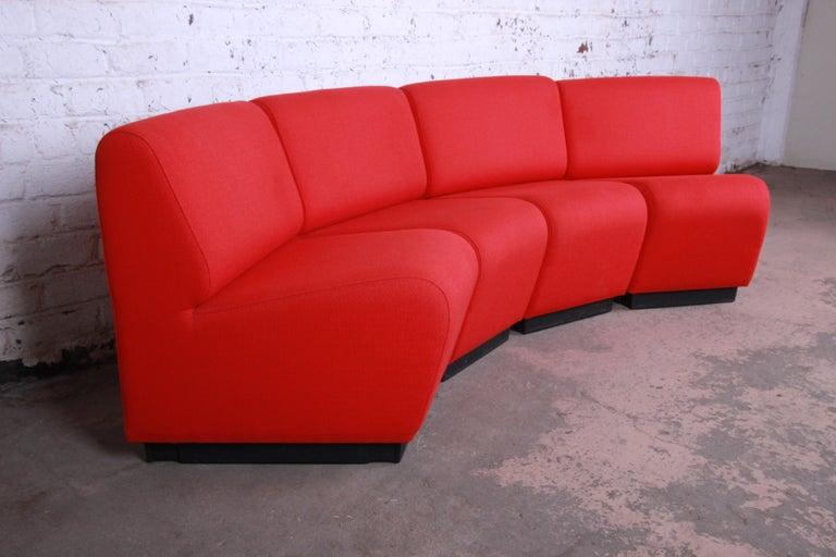 John Mascheroni For Vecta Tappo Modular Sectional Sofa At 1stdibs