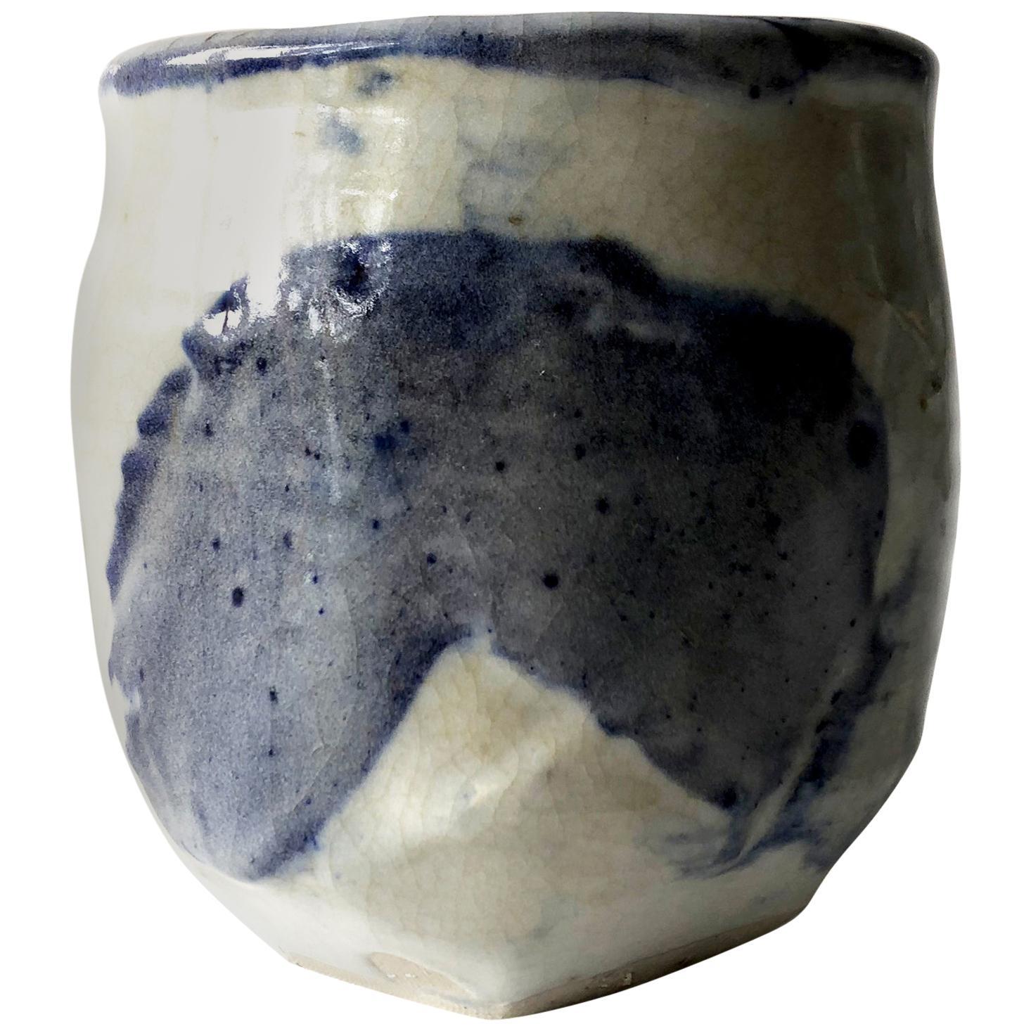 John Mason California Studio Pottery Stoneware Vase Form