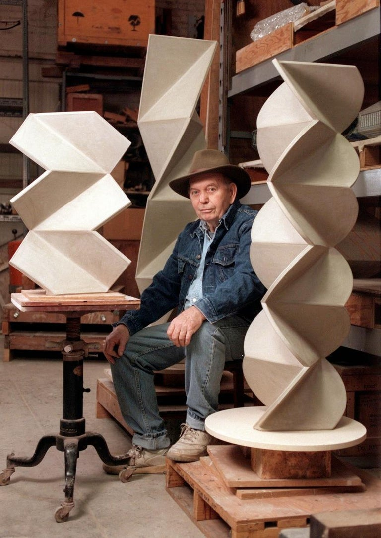 John Mason California Studio Stoneware Pottery Vase For Sale 3