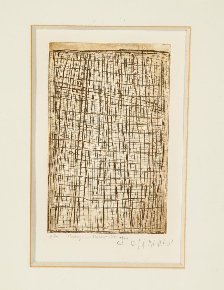 Other John Mawurndjul 'Mardayin at Mukkamukka', Aboriginal Contemporary Etching For Sale