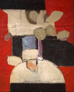 """""""Patio"""" Mixed Media Painting"""