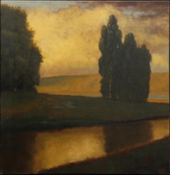 John McCormick 'Berryessa' Oil on Canvas Landscape Painting