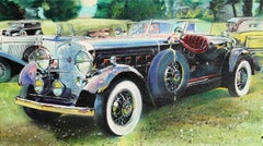 Rolls Royce, Oil Painting by John McCormick