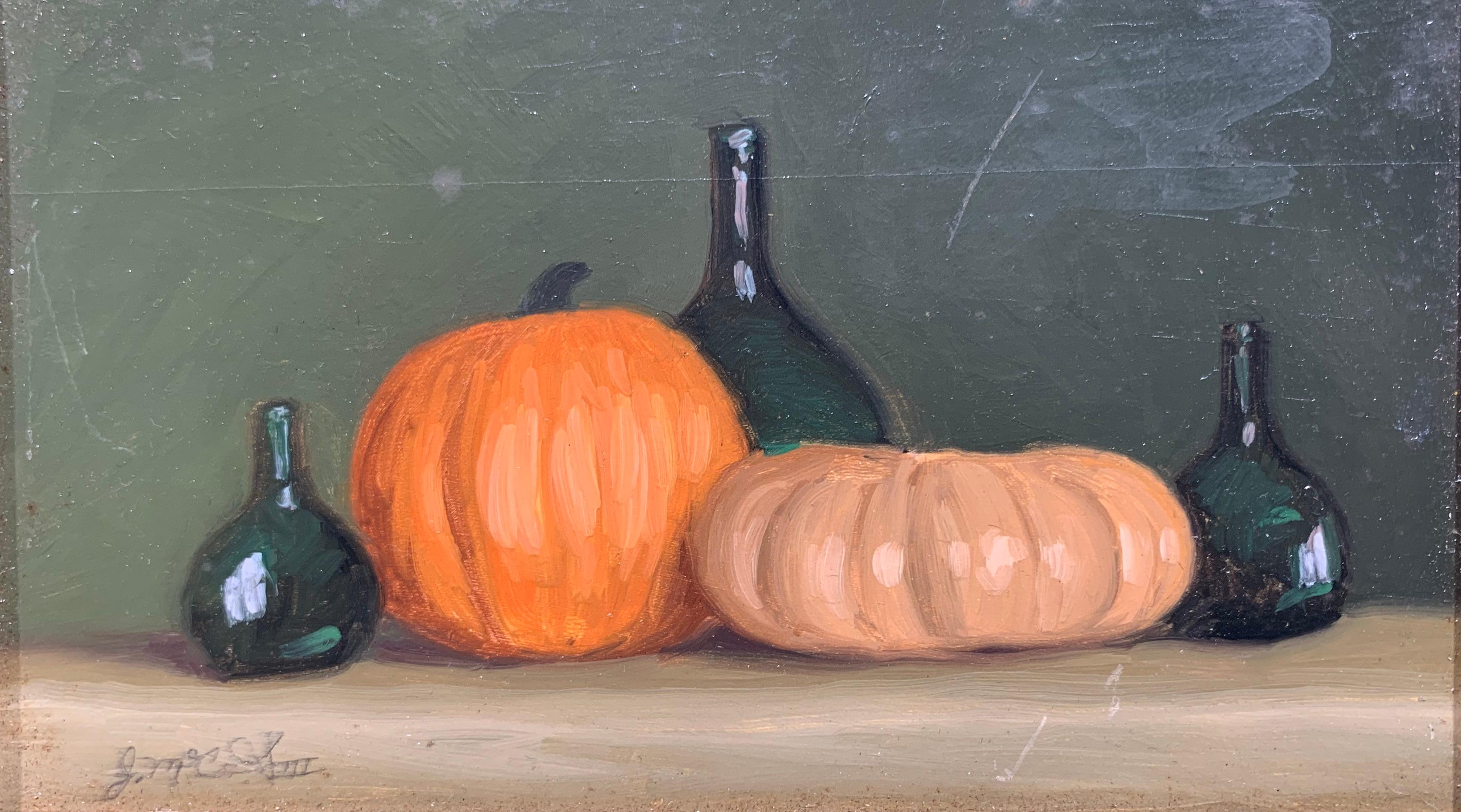 Romantic Autumn Collection (still life painting)