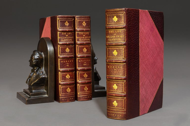 John Morley, The Life Of William E. Gladstone In Good Condition For Sale In New York, NY