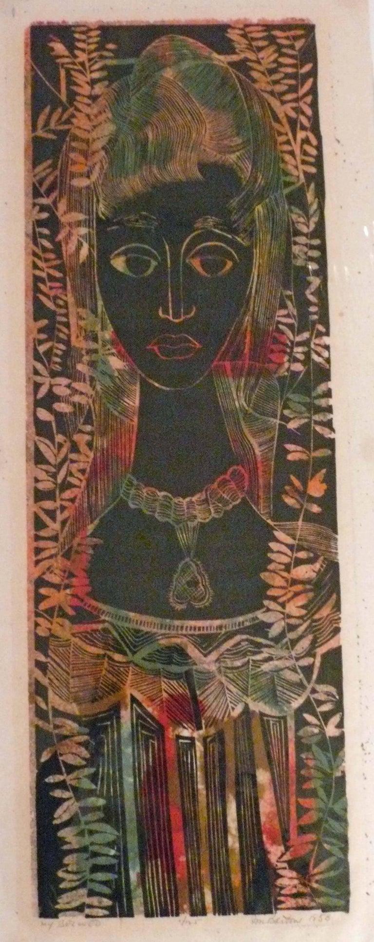 John Murray Barton Figurative Print - MY BELOVED