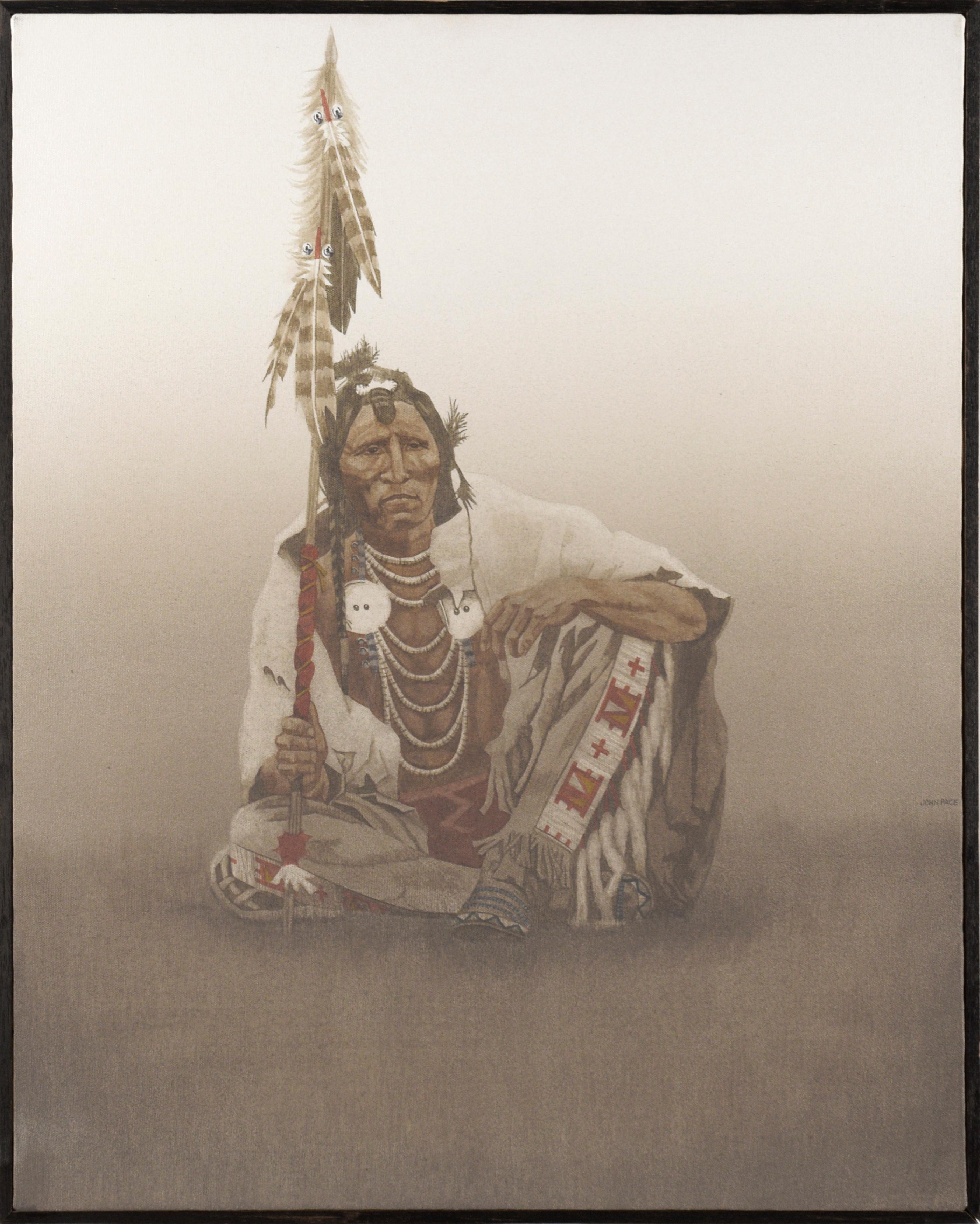 Seated Elder by John Pace