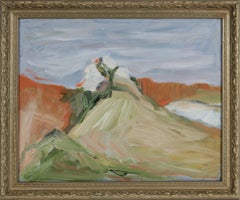 Expressionist Landscape Deconstruction 20th Century Oil Painting
