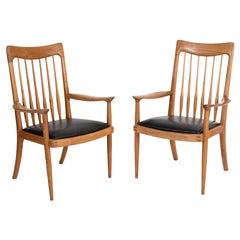 John Nyquist Studio Crafted Lounge Chairs