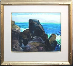 "Big Sur Coast ""Coastal Scene"" 1920s John O'Shea and Friends Show 1993"