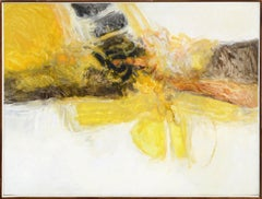 """""""Two-Bee"""" Abstract Expressionist Composition"""