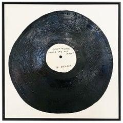 John O'Hara, Custom Vinyl Record Art, Your Favourite Song, Encaustic Painting