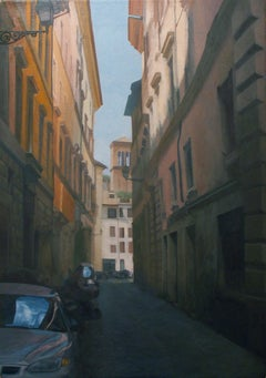 Roman Alley, Painting, Oil on Canvas