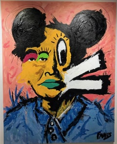 "John Paul Fauves ""Mickey MAO"" from Loss of Innocence series"