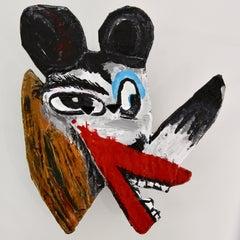 """John Paul Fauves """"GUCCI"""" mixed media sculpture"""