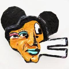 """John Paul Fauves """"MAO"""" collectible art mask"""