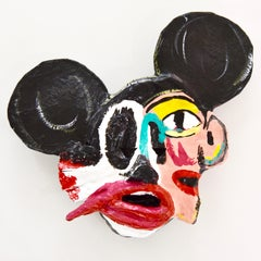 "John Paul Fauves ""MickAsso"" collectible art mask"