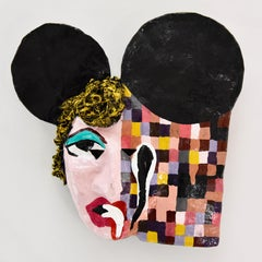 "John Paul Fauves ""PIXELS"" collectible art mask"