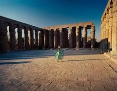 Photograph - Luxor - Framed print