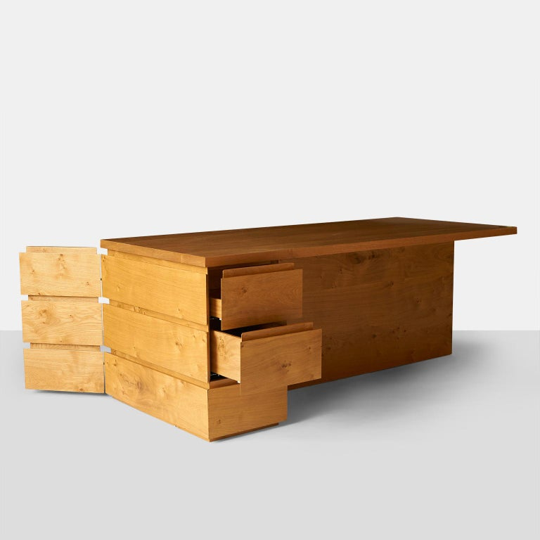 Oak John Pawson Minimalist Desk For Sale