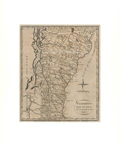 Vermont from the latest Authorities. 1799.