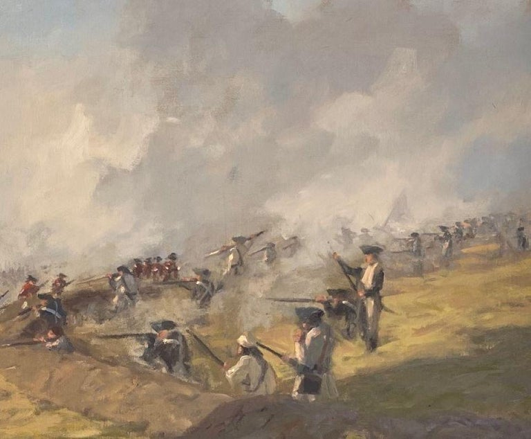 The Battle of Bunker Hill was the beginning of the actual fight for freedom and American independence.  Our nation's forefathers often faced frigid elements, protected only by threadbare clothes, substandard arms compared with the highly equipped