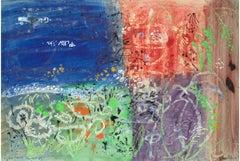 John Piper Garn Fawr watercolour and gouache painting