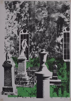 John Piper: Dylwyn Church Etching with Aquatint 1966
