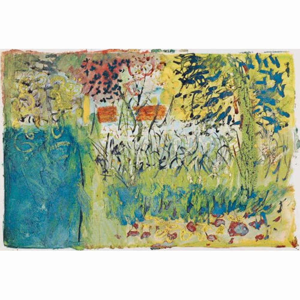 John Piper, 'Moutou' (1968) silkscreen print, Modern British Art France